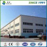 Casa de marco de acero ligera China con alta calidad