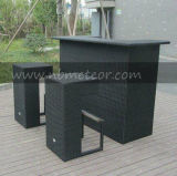 Mtc-113 Outdoor Garden Patio Rattan Bar Set