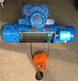 Тип электрической лебедки MD1 двойной скорости использующ для поднимаясь высоты