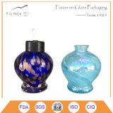 Lampada di olio di vetro di colore solido/lampada Tabella del cherosene, lanterna decorativa