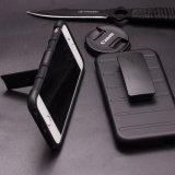 Caso del iPhone 7 del fabricante de los accesorios del teléfono con el clip
