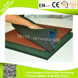 Proveedor chino Anti Slip Fitness Gym de goma Suelos de Crossfit Gym de goma alfombra del piso