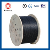 Cable óptico al aire libre de fibra de la base del cable GYTA53 168 de la comunicación para FTTH