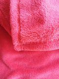 Manta de lã de coral manta sólida
