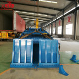 Container die en de Mobiele Helling van de Werf van de Helling laden leegmaken