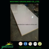 9mm MDF High Glossy Finish White Drawing Board para Escola