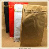 食品等級の弁が付いている安いジップロック式のアルミホイルのコーヒー包装袋