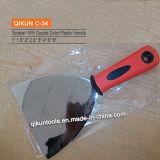 Raspador flexible Polished de la lámina del espejo plástico de la maneta
