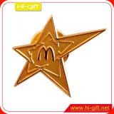 Monograma do pino de metal personalizada