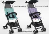 Neue abgeglichene Farbe und Einzeln-Hand, die Pockit Baby-Spaziergänger faltet