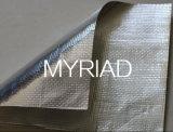 El papel de aluminio con tejido