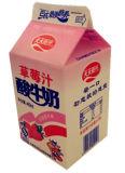 dreieckiger Karton der Milch-460ml für Milch-Saft/Sahne-/Wein-/Joghurt-/Wasser-Kasten