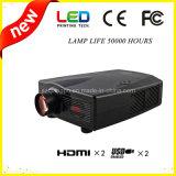 LED Proyector de cine en casa DVD con TV construido en (SV-800)