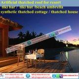 Villa di lusso tropicale/mattonelle di tetto sintetiche del Thatch stile dell'isola dalle Seychelles