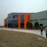 Entrepôt de structure en métal, construction préfabriquée de structure métallique