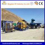 Brique pleine du bloc Qt5-15 creux employé couramment faisant la machine avec la pression hydraulique