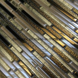 Qualität und Classicial Streifen-Glasmosaik-Fliese