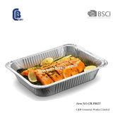 Feuille d'aluminium à usage unique, d'aliments cuisson Cuisson barbecue conteneur de stockage