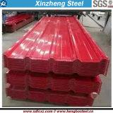 Gi galvanizzato ondulato laminato a freddo della lamiera di acciaio del materiale da costruzione