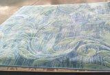 100%年のポリエステルによって編まれる房状の一面のカーペット