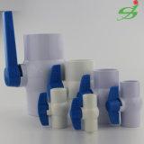 プラスチック球弁、UPVC/PVCのソケットの球弁