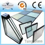 Baixo-e vidro isolado para a parede de cortina/indicador/edifício