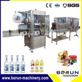 Beber automático garrafa PET de PVC manga retráctil máquina de rotulação