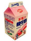 caixa da parte superior do frontão do leite 460ml para o suco do leite/caixa do creme/vinho/iogurte/água