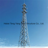 Toren van de Telecommunicatie van Pool van het staal de Tubulaire