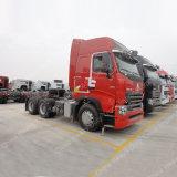 420HP Sinotruck HOWO A7 6X4のトラクターのトラックの重いトレーラーのトラクター