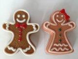 Gingerbread Boy& Girl Shaped Handmade Soap для Hotel \ Gift