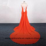 Русалки Sexy Backless кружева долго вечер платье Ппзу Openboot