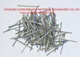 Extracto de fibras de acero fundido de material resistente al desgaste