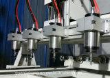 El 8 de husillos, Máquina de grabado giratorio, 4 rebajadora CNC de ejes