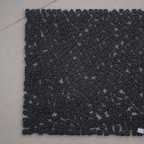 Modelos de mosaico de cristal negros cristalinos del azulejo de la pared de la decoración interior