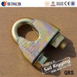 索具のハードウェアのGalvの鋼線ロープクリップ