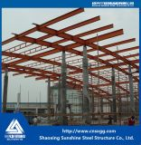 Struttura d'acciaio fatta del materiale da costruzione del fascio per ingegneria della decorazione
