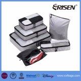 l'emballage 7PCS cube des organisateurs d'emballage de bagage