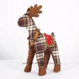 Rinoceronte de juguete de peluche de Navidad de peluche personalizado