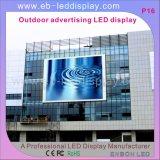 P16 (8x3m) Al aire libre pantalla LED / LED de la cartelera