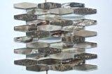 Mezcla de 2017 de mosaico Waterjet vidrios y del metal