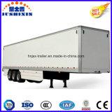 Caminhão quente reboque de serviço público de Van da carga seca de liga de alumínio do eixo do vendedor 3 BPW Semi/caixa para Cigarettor o outro transporte de cargas da maioria para a venda