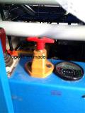 Plate-forme mobile de levage de levage remorquable manuel de ciseaux en stock