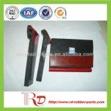 A borracha da correia de transmissão parte a placa de contorno da selagem