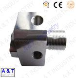 O CNC personaliza as peças de madeira do aço inoxidável/torno do bronze/maquinaria central de alumínio