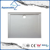 Base latérale de douche de fibre de verre de plateau de douche de languettes des articles SMC 4 sanitaires (ASMC9090-3)