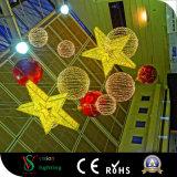 Indicatori luminosi decorativi della stella del centro commerciale di natale LED