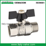 L'ottone di vendita caldo ha forgiato la valvola a sfera della farfalla/valvola (AV1055)