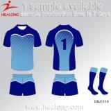 Healongの最も新しい様式は服装ギヤチームクラブ昇華ラグビーのジャージを遊ばす