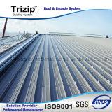 Trizip65-430屋根ふきおよび壁のCladingシステム